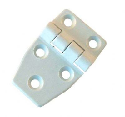 Nylon hinge - 58mm x 36mm