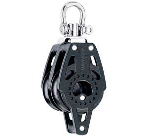 Harken 40mm Carbo Double Swivel Becket 2639