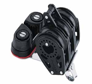 Harken 29mm Carbo Triple w cam becket 347