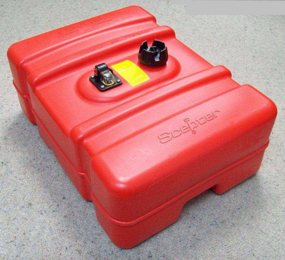 Scepter 45 Litre Fuel Tank - Low Version