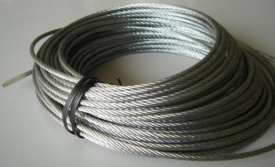 316 Stainless 7/7 Semi Flexible Wire