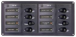 BEP 901H - 8 WAY CIRCUIT BREAKER PANEL