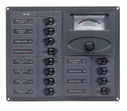 BEP 902-AM - 12 WAY CIRCUIT BREAKER PANEL