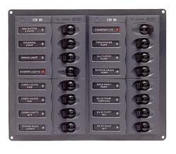 BEP 904NM - 16 WAY CIRCUIT BREAKER PANEL