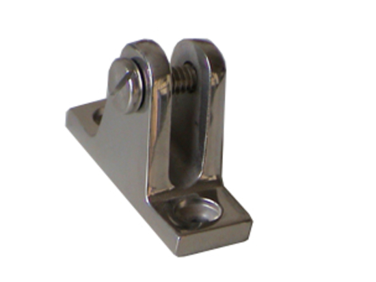 Deck Hinge Angled base  sc 1 st  Barton Marine & Canopy Fittings : Discount Marine Ships chandlers boat supplies ...