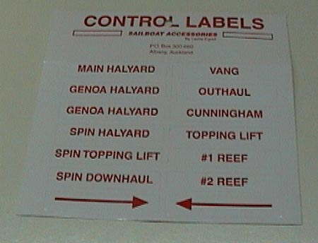 Control Labels sticker