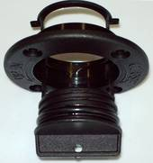 "Tenob 2"" Drain Plug & Base - Black X Large"