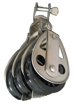 CR27 - 60 x 19mm Triple Swivel Shackle Top