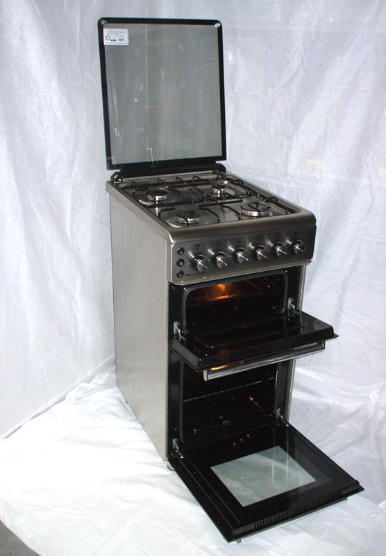 Challenger Albatross 4 Burner Gas Hob, Oven and Grill S/S