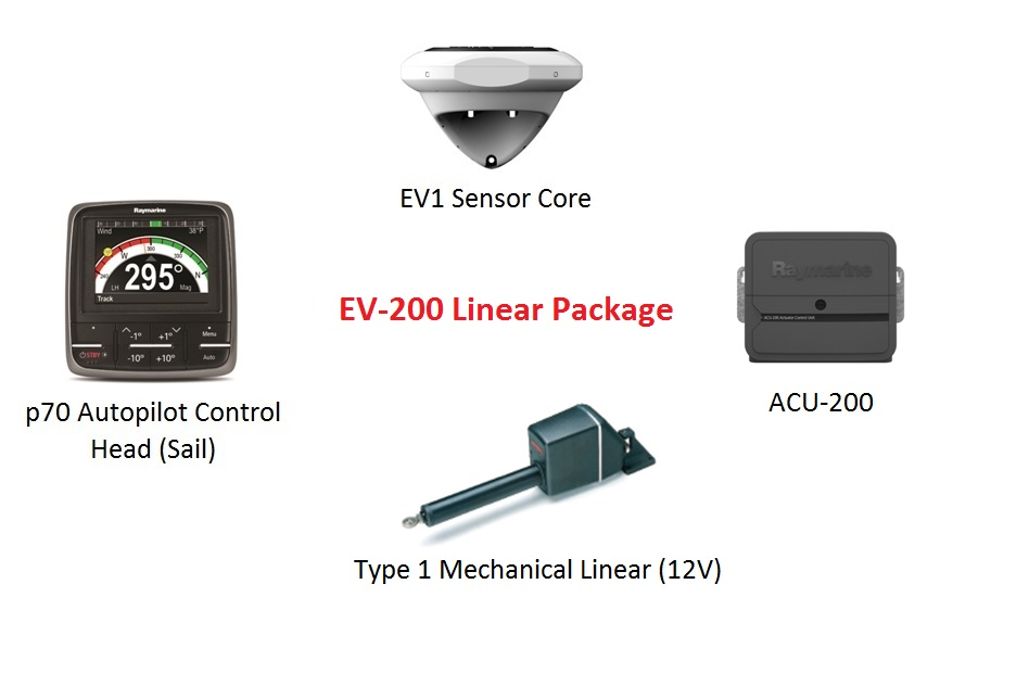 Raymarine EV-200 Linear package