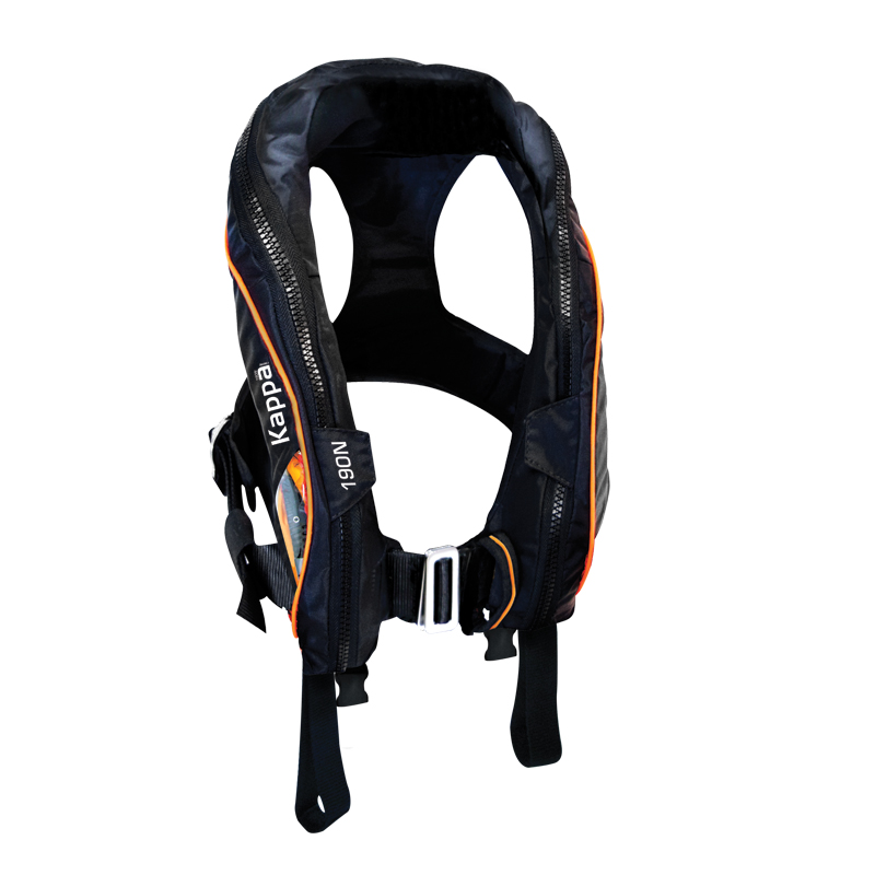 Kappa Inflatable Lifejacket Auto 180N with double crotch