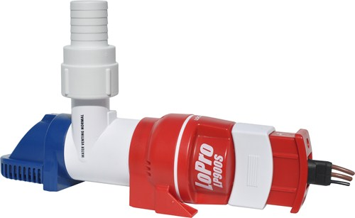 Rule LoPro Bilge Pump - Low Profile 900GPH - Sensor version