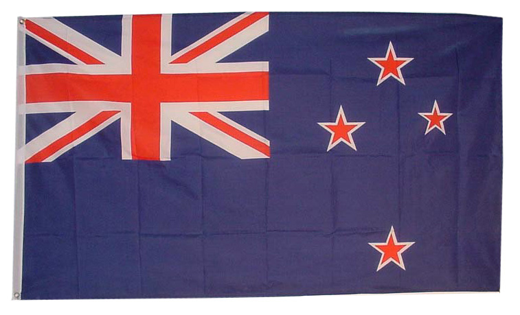 New Zealand courtesy flag Blue