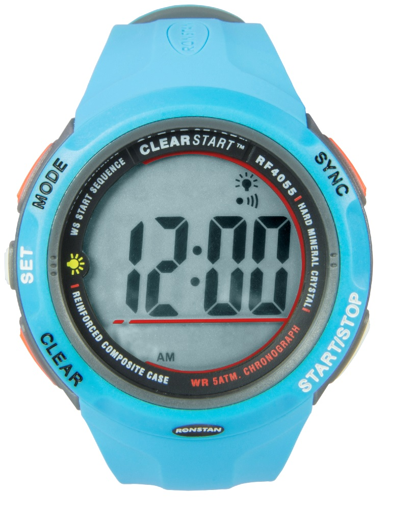 Ronstan Clearstart Watch - RF4055B 50mm Blue