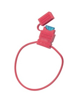 Waterproof ATC Fuse Holder with 15A Fuse - 5""