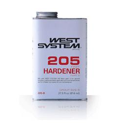 West Systems Epoxy Hardener 205 (Fast)