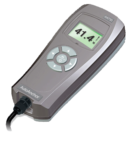 Auto Anchor 730 remote control with LCD readout