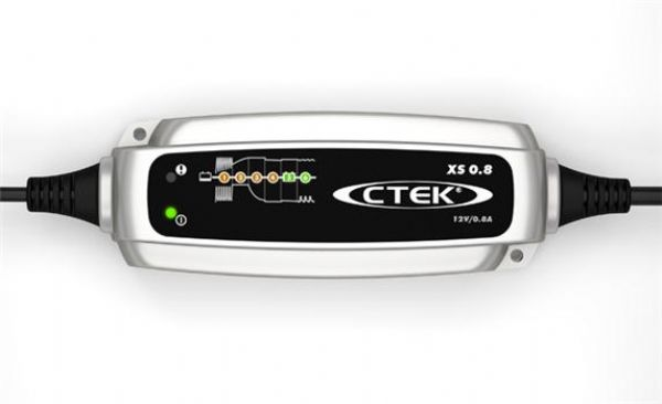 Ctek Charger 0.8A XS 0.8 COMPACT 6-STAGE