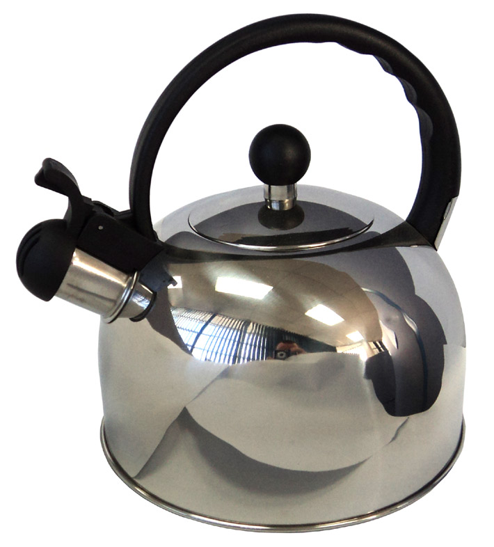 Stainless Steel Deluxe Whistling Kettle