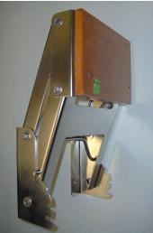 Stainless Steel Transom Fit Rise & Fall Bracket - 25hp