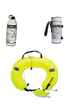 JONBUOY Inflatable Horseshoe Lifebuoy